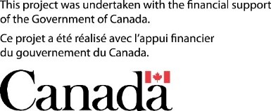 Acknowledging funding support from Government of Canada.