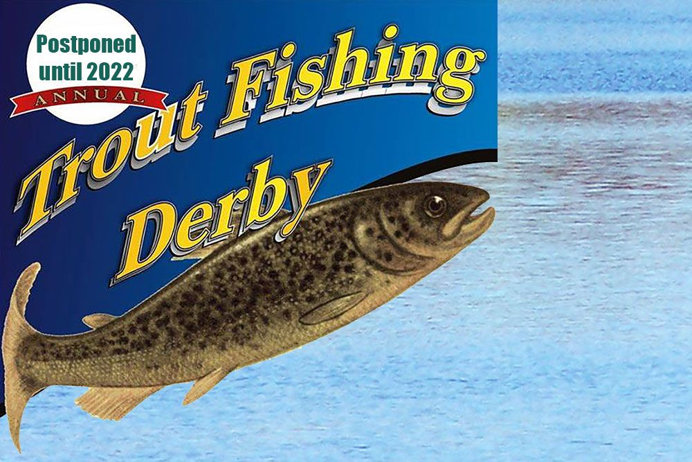 The fishing derby is scheduled to return in 2022.