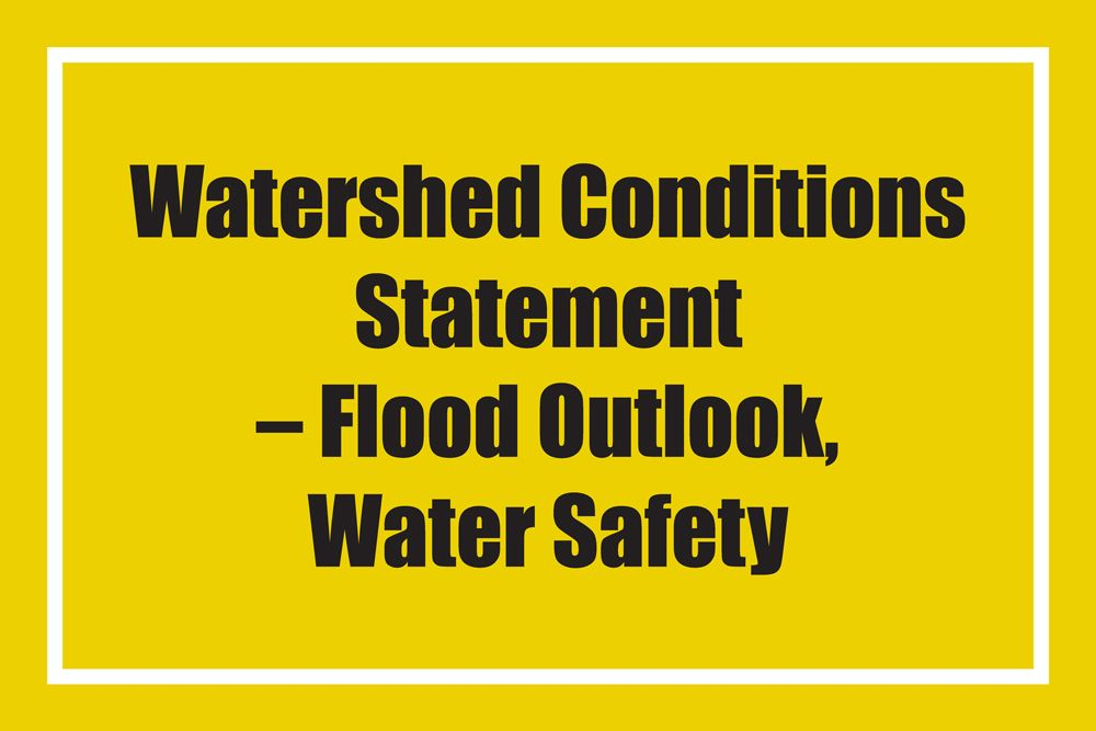 Flood Outlook and Water Safety flood message