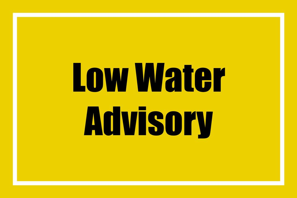 Level 1 Low Water Advisory in effect for Bayfield River Watershed