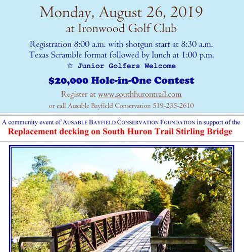 Monday, August 26, 2019 - Golf for South Huron Trail